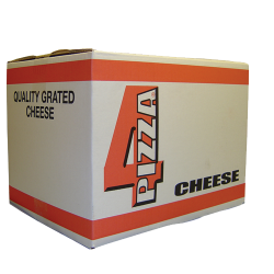 100% Pure Mozzarella Cheese (Diced) 6x2kg