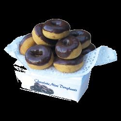 Mini Choc Donuts x 200