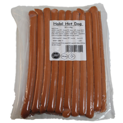 Halal Hot Dogs  x 1.2 KG