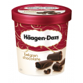 H Daz Belgian Choc Ice Cream 8x500ml
