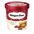 H Daz Pralines & Cream Ice Cream 8x500ml