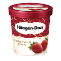 H Daz S/B & Cream Ice Cream 8x460ml