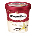 H Daz Vanilla Ice Cream 8x460ml