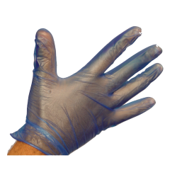 Disposable Blue Gloves (Medium) x100