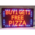Pizza Sign (Buy 1 Get 1 Free) 33cmx55cm