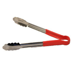 Large Garlic Bread Tongs(Black/Red/Gr)