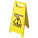 Wet Floor Sign (Yellow Plastic)
