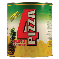 BOX Pineapple 4 Pizza 6xA10