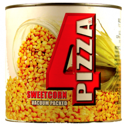 TIN Sweetcorn Tin (4 Pizza) xA10