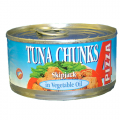 Tuna In Oil 4 Pizza (24x185g)