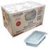 500ml Microwave Clear Plastic Conts + Lids x250