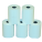 Credit Card Rolls (57x25x12) x20 (45mm diam) 1ply