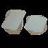 Large Foil Containers & Lids (x20)